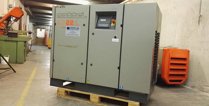 Compressore Mattei AC 22 L – 22 KW