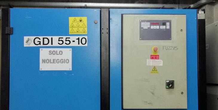 Compressore Mark GDI 55 10 – 55 KW