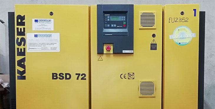 Compressore Kaeser BSD 72 – 37 KW