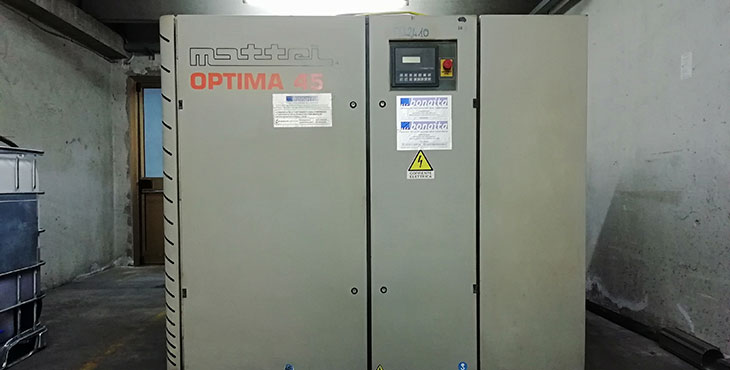 Compressore Mattei OPTIMA 45