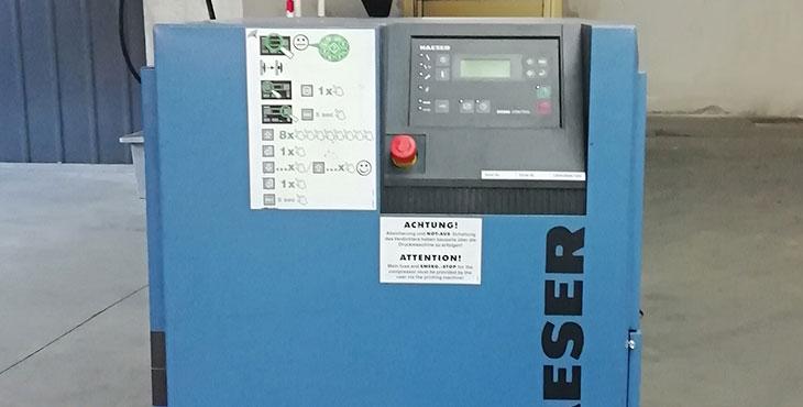 Compressore KAESER SM 11 - 7.5kW