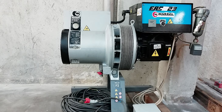 Compressore Mattei Hydrovane ERC 23 – 4 KW