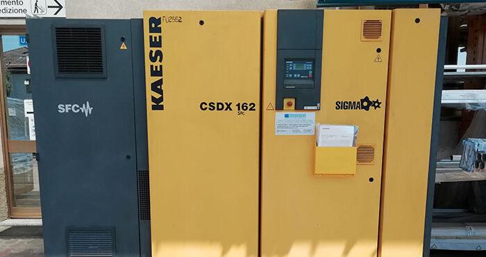 Compressore KAESER CSDX 162 SFC – 90 kW