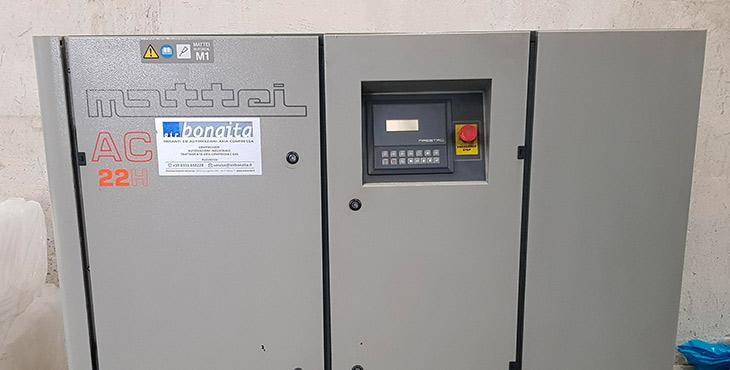 compressore mattei AC 22H FU 2599